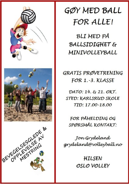 Volleyflyer
